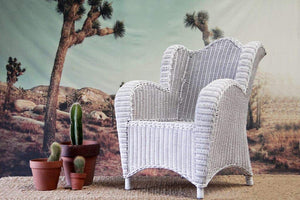 IRA Kids Armchair - White - IRA Furniture