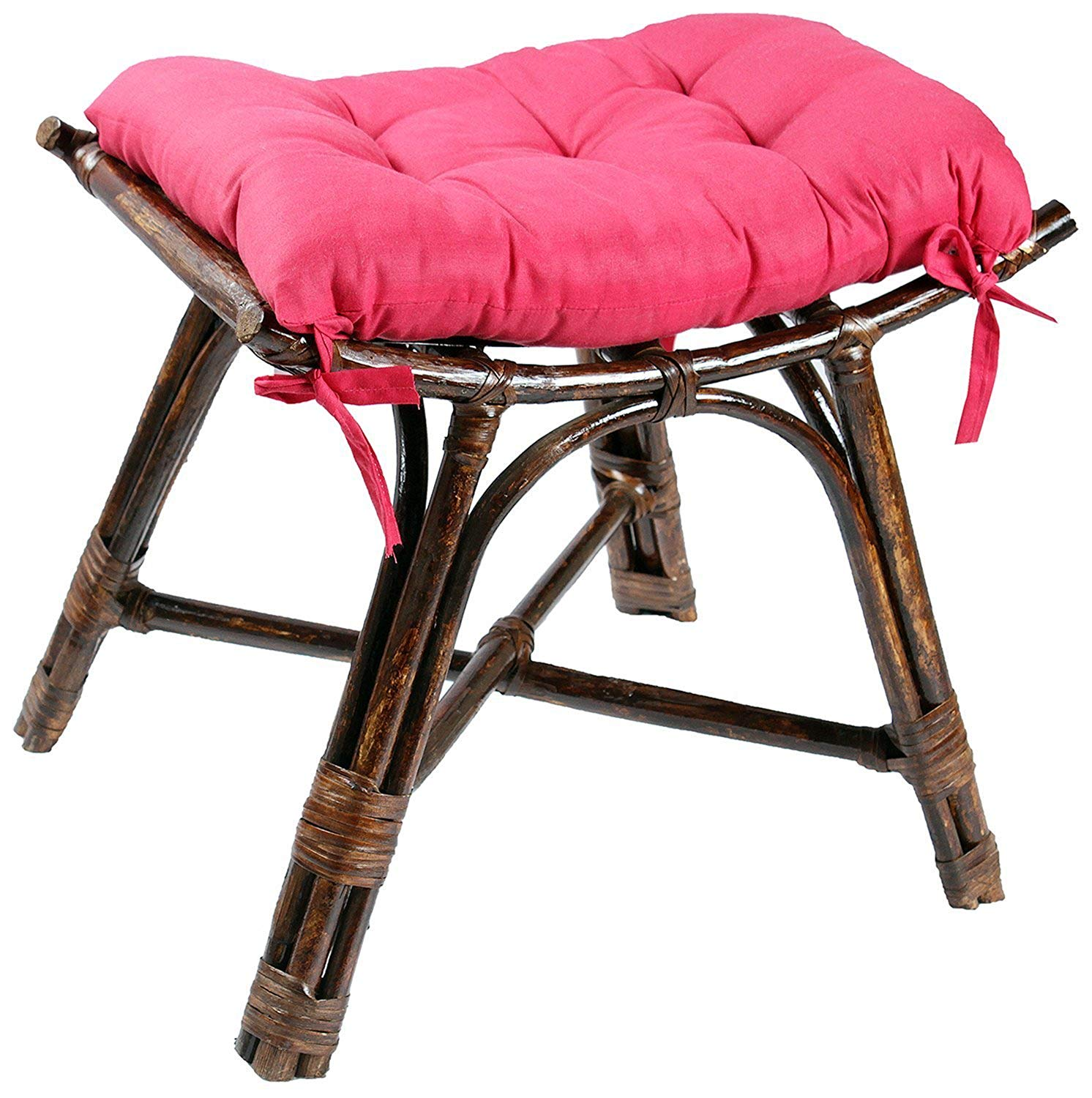 IRA Brown Footstool - IRA Furniture