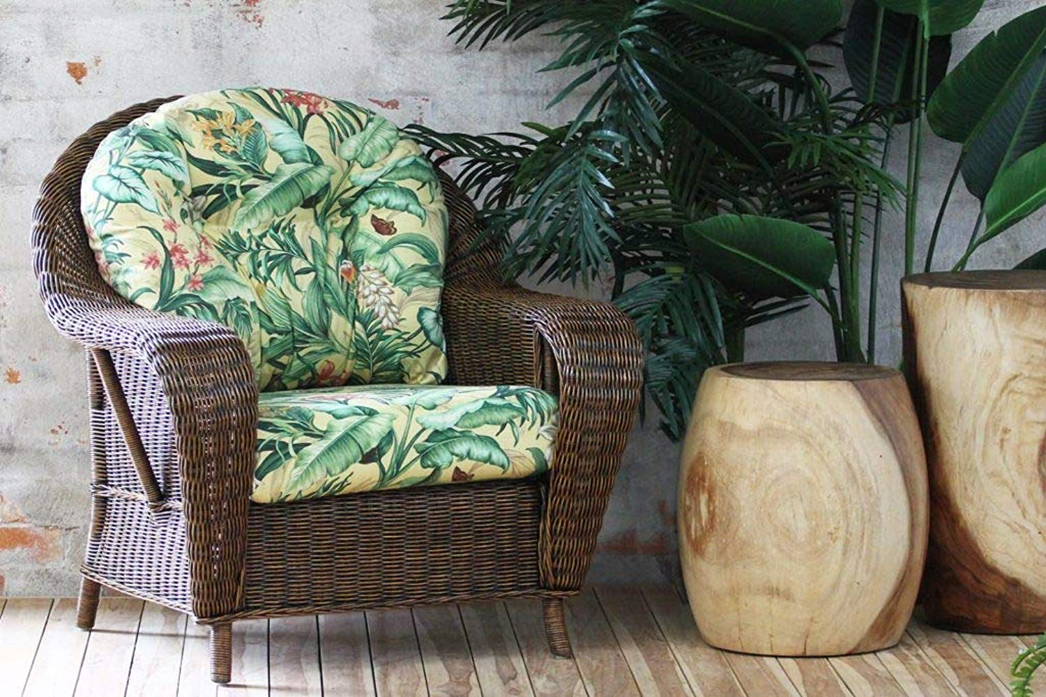 IRA Brown wash Armchair - IRA Furniture