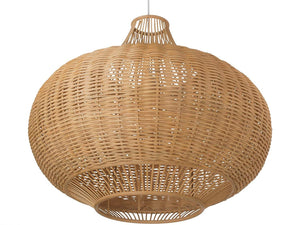 IRA Light Wicker Pendant Lamp - IRA Furniture