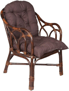 IRA Brown Chair made of Rattan and Wicker - IRA Furniture