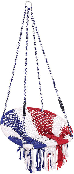 IRA Rope Silk Swing (Red) - IRA Furniture