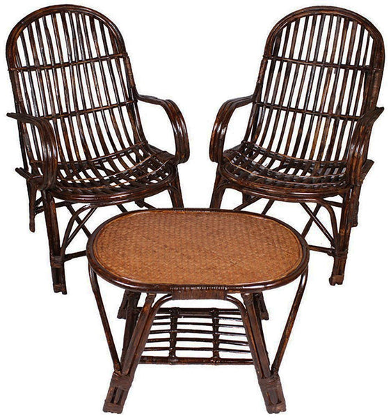 IRA Brown Table and Chair Set - IRA Furniture