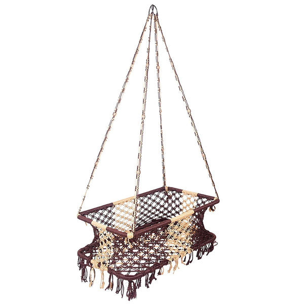 IRA Soft Rope Baby Cradle Ghodiyu Swing Palna Jhula Baskets - IRA Furniture