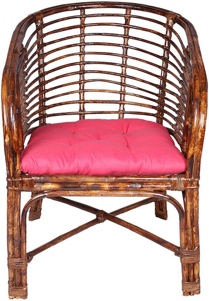 IRA Rattan Elegant Arm Chair with Cushion - IRA Furniture
