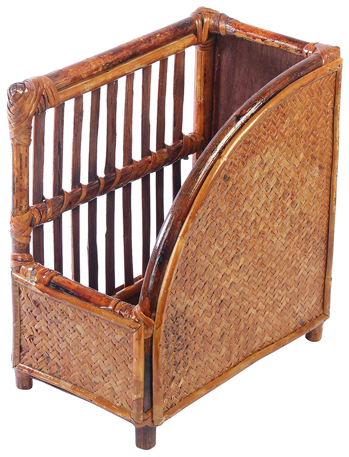 IRA Brown Bookcase Made of Rattan & Wicker - IRA Furniture