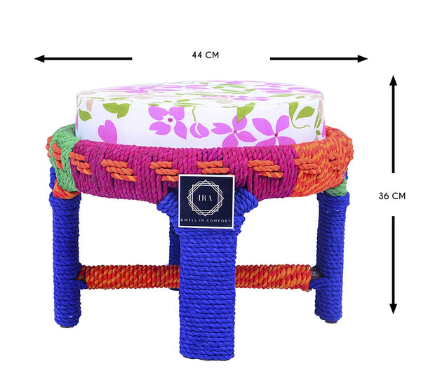 IRA Multicolor Indoor Outdoor Small Table/Stool - IRA Furniture