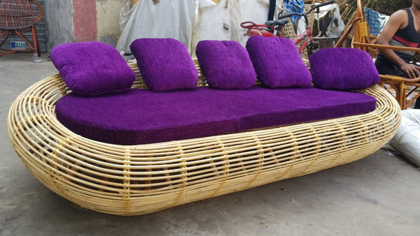 3 seater Sofa with cushion and Side Tables
