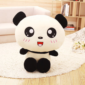 Peluche Panda -  Tête Cartoon - Royaume Panda
