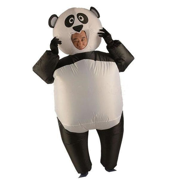 Costume Panda <br> Gonflable - Royaume Panda