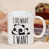 Mug Panda <br> I Do What I Want - Royaume Panda