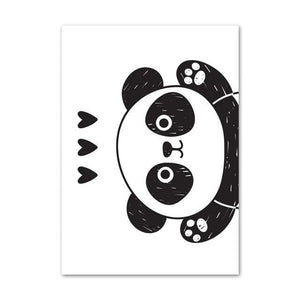 Poster Panda <br> Distribution d'Amour - Royaume Panda