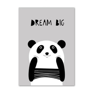 Poster Panda <br> Dream Big - Royaume Panda