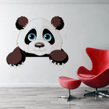 Sticker Panda Mural <br> Simple Panda - Royaume Panda