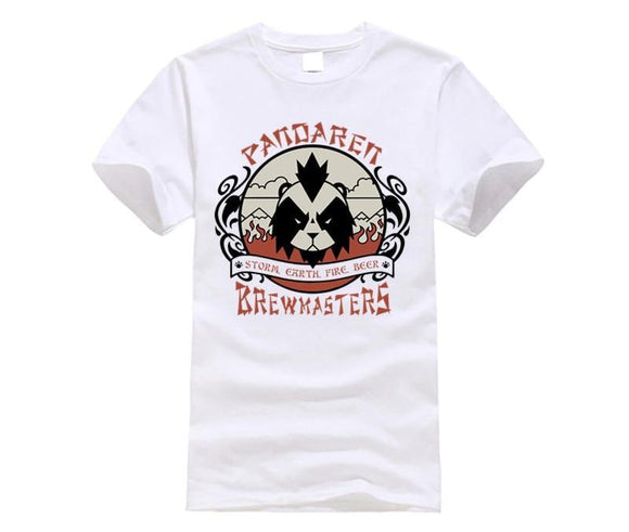 T-Shirt Panda <br> World Of Warcraft Pandaren Monk - Royaume Panda