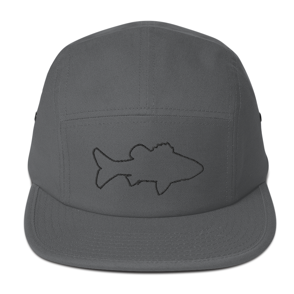 5 Panel Bass Cap (grey)
