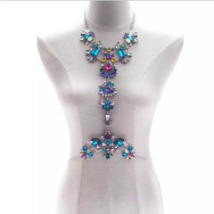 Garden Party Harness- Jewel Tone