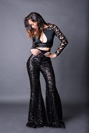 Glitz Sequin Trouser