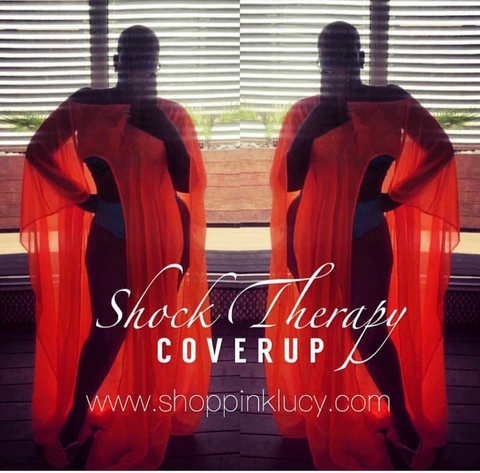 Shock Therapy swimsuit coverup