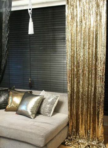 Sequin Curtains