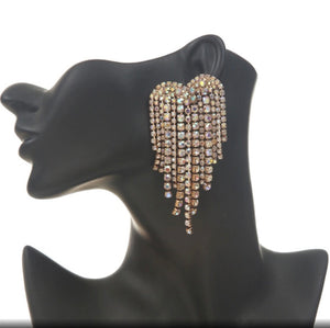 Chandelier Studded Danglers
