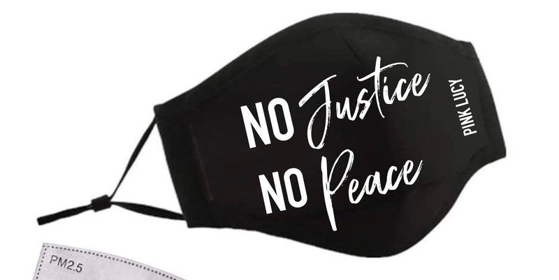 No Justice! No Peace! Face Masque