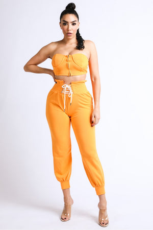 Walking Papers- 2pc Corset Jogger