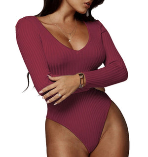 Simone Ribbed Bodysuit