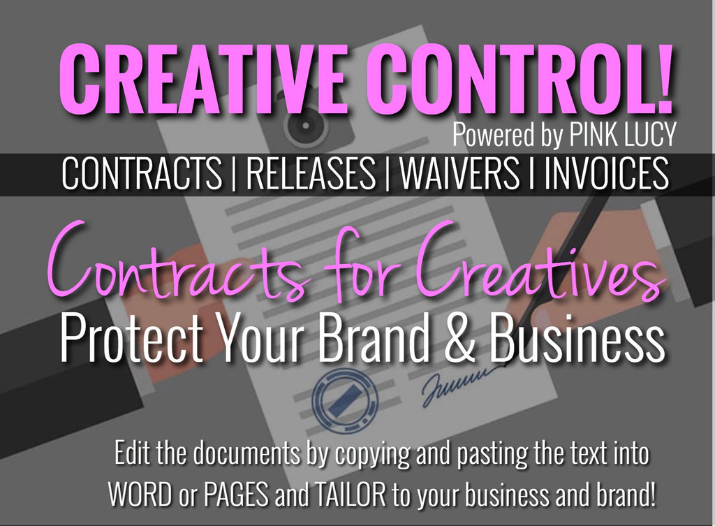 Creative Control- Contracts for Creatives