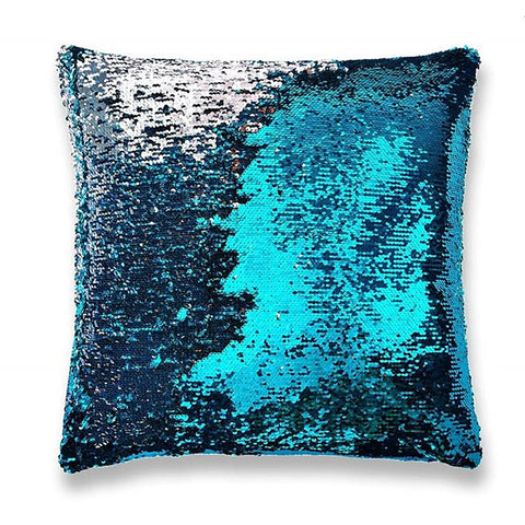 Mermaid Sequin Pillow - Tranquil