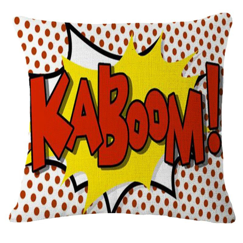 There is the Kaboom!