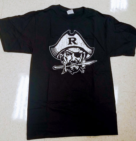 RRRRR Matey !!!! Black Super Soft Cotton Pirate T shirt: Adults $15., Kids $10.