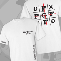 """I Will Not Lose"" T-Shirt(tic tac toe)"