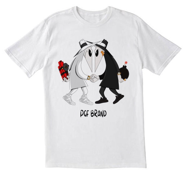 Spy Vs. Spy Tee(white)