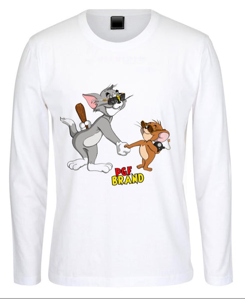 "Cartier ""Tom & Jerry"" Long Sleeve Tee"