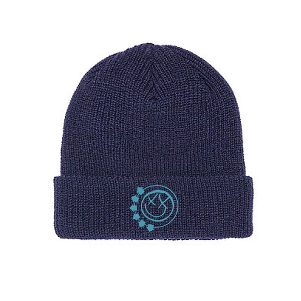Smiley Logo Navy Beanie