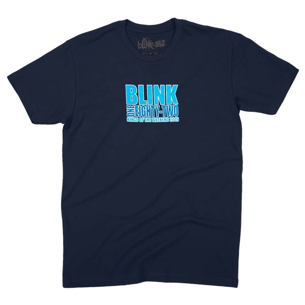 LOSER KINGS NAVY TEE SMALL