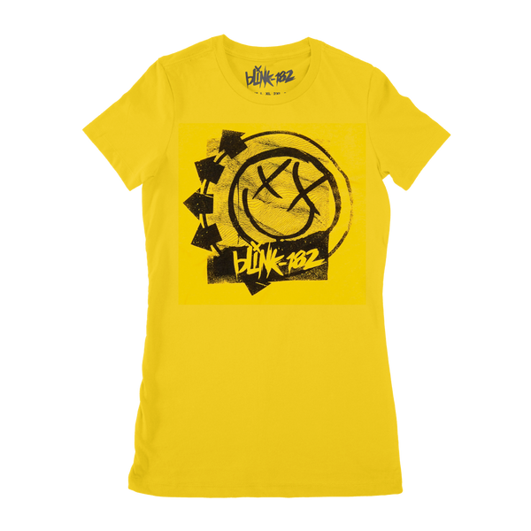 RIPPLED GIRLY YELLOW TEES