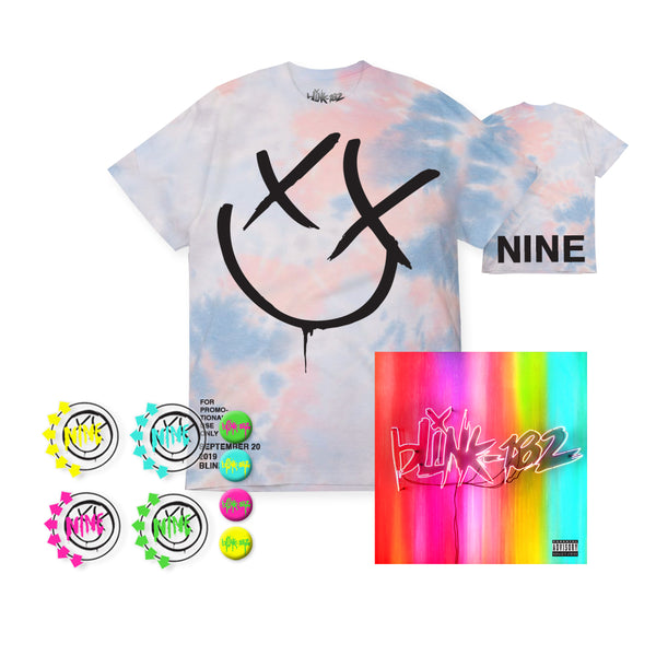 NINE ALBUM PREORDER - X-FACE NINE TEE BUNDLE