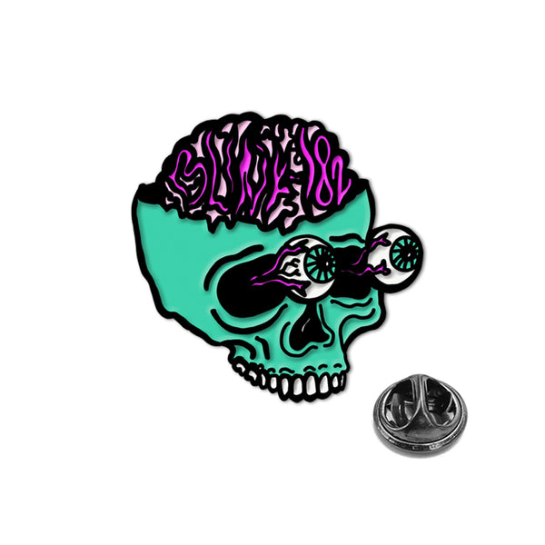 NINE ALBUM PREORDER - BRAINS ENAMEL PIN BUNDLE: