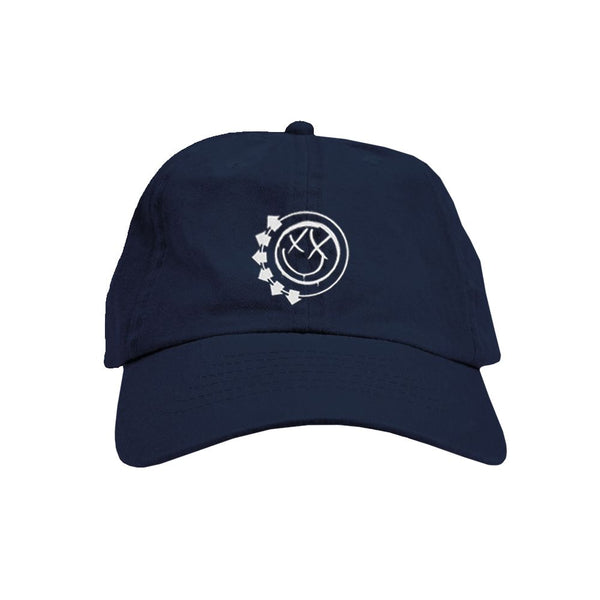 Smiley Logo Navy Dad Hat