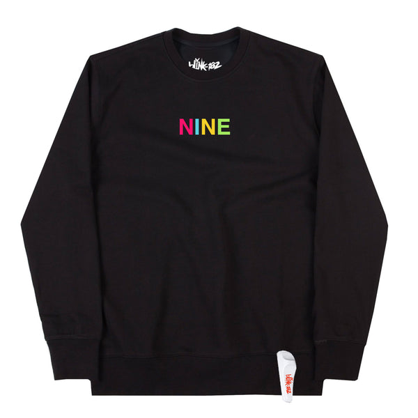 NINE ALBUM PREORDER - SECURITY NINE CREWNECK SWEATSHIRT BUNDLE