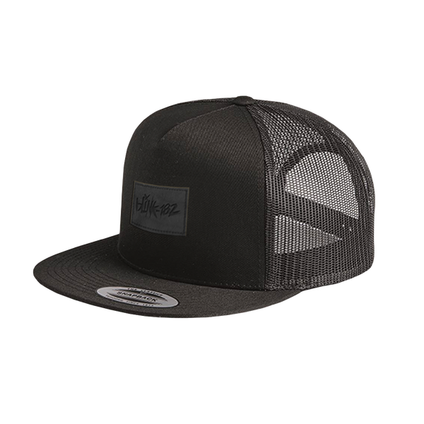 LOGO VEGAN PATCH TRUCKER HAT