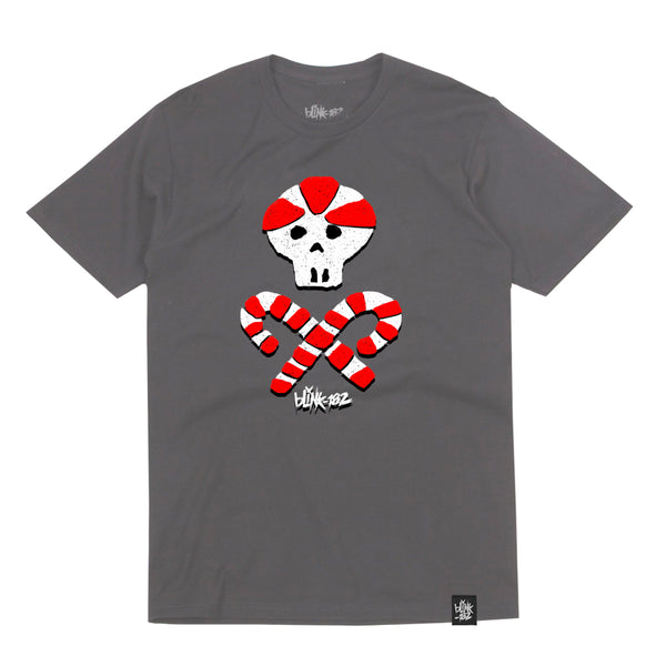 Candy Cross Bones Grey Tee