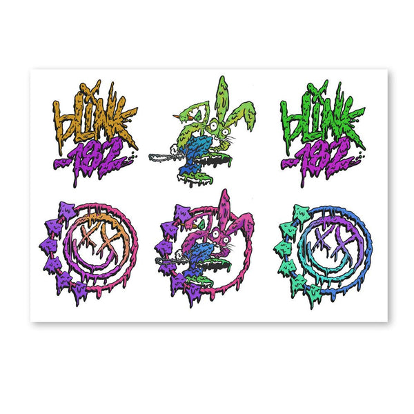 Slime Logo Sticker Sheet