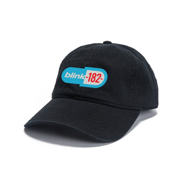 Pill Logo Black Dad Hat