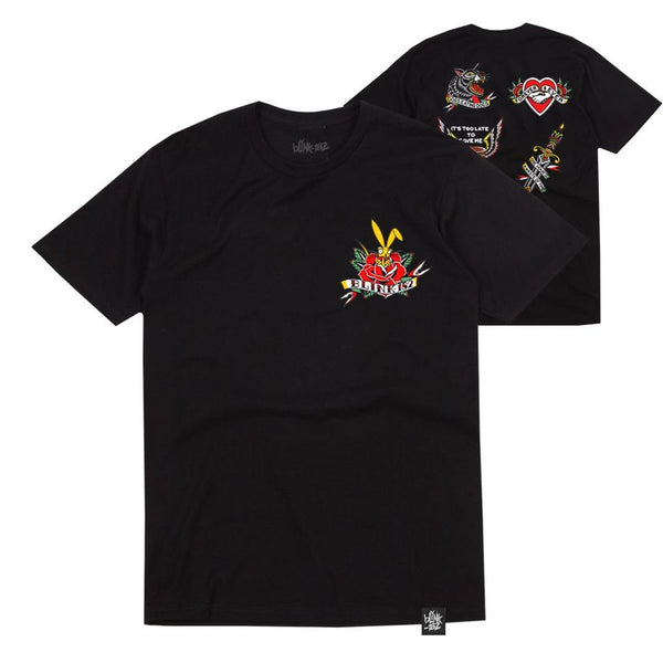 Hiro Flash Black Tee