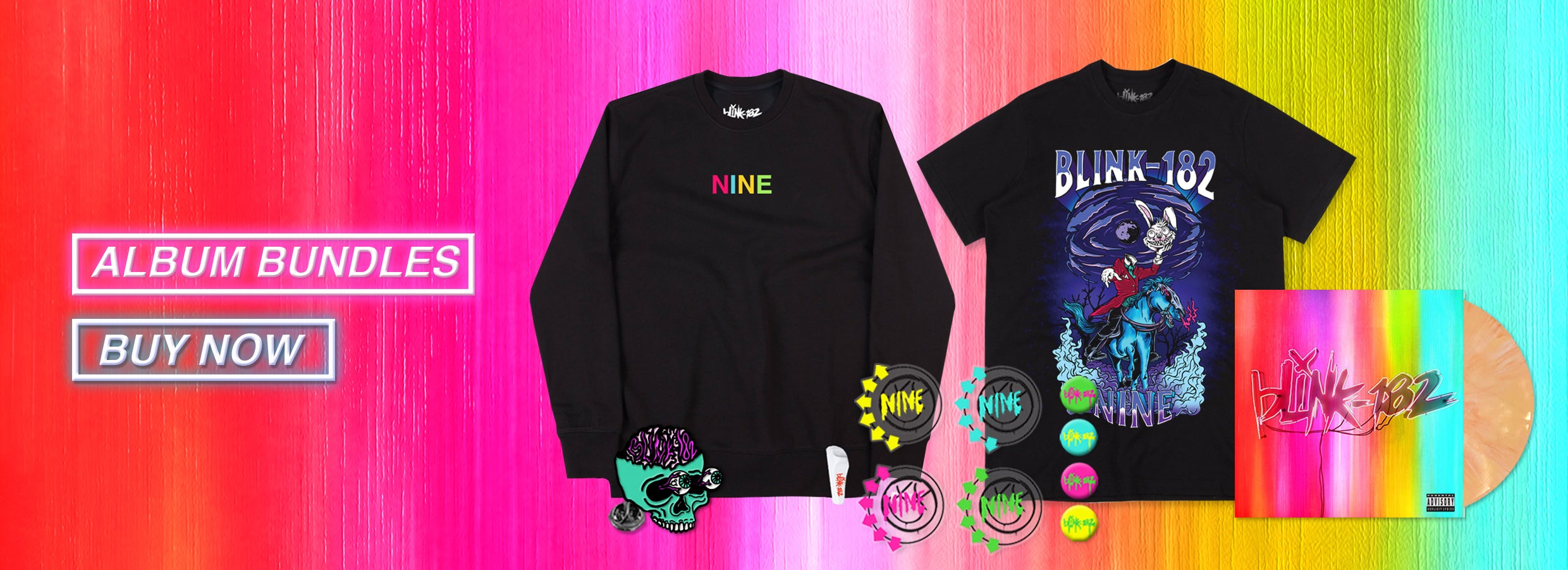 6a4b42b9 Official Online Store | Blink-182 US