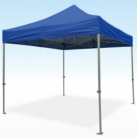 PRO-Marq 40 3m x 3m blue heavy duty instant shelter gazebo frame & top