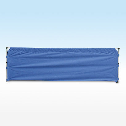 instant shelter gazebo half wall blue 6m